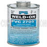 1 Gallon Clear PVC Cement, PVC 2705, Low VOC